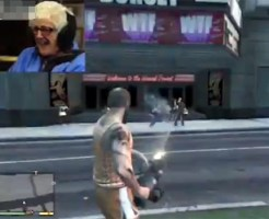 【衝撃映像】おばあちゃんがゲームで人を殺しまくって喜んでる件・・・