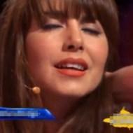 【エロ動画:おもしろ】テレビ放送中にイってしまった美人女優wwwwww