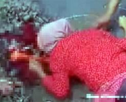 【グロ動画:事故】顔面から地面に激突・・・顔面破裂で脳みそが・・・
