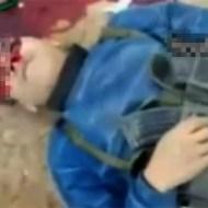 【グロ動画:戦争】目の前で頭を打たれて死んでいく兵士・・・