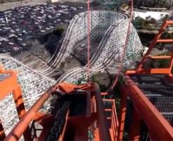【衝撃映像:動画集】世界の恐怖のジェットコースターTOP10!玉ヒュンどころじゃないw