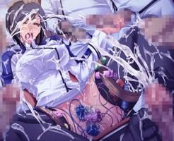【エロ画像】強気な女性仕官2人を洗脳して犯し続ける画像集