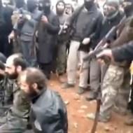 【シリア戦争】拘束したシリア兵を公開処刑・・・次々に銃殺していく