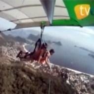 【ハプニング】パラグライダーが落下する一部始終・・・