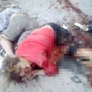 【グロ注意】ウクライナの空爆後、悲惨な光景・・・
