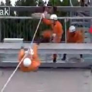 【衝撃映像】日本の消防隊の動きが忍者過ぎると海外で話題に!!