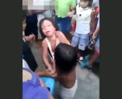 """【刃牙道】3才の娘同士殴り合いさせるブラジルの""""英才教育?"""""""