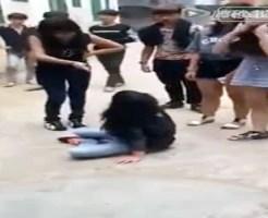 【集団いじめ】可愛い子をブスが囲って集団暴行・・・女のいじめクズ過ぎる