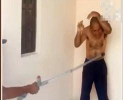 【虐待】9歳の子供を虐待した男・・・を虐待する映像・・・