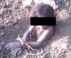 【レ○プ殺人】地面から腕が!!→犯されて生き埋めにされた女性でした・・・