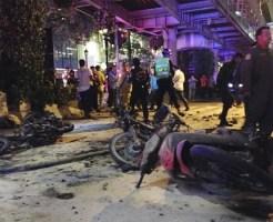 【爆破テロ】タイのバンコクで爆破テロ発生・・・この至近距離動画やべぇ・・・