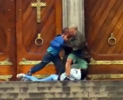 【閲覧注意】女性を救ったヒーローが犯人に撃ち殺されるまで・・・