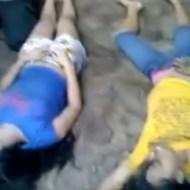 【閲覧注意】溺死した幼女や少女達の死体の山・・・ 動画有り