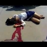 【グロ注意】女子高生が制服のまま血流して死んでるんだけど・・・ 閲覧注意