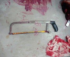 【閲覧注意】殺人現場で見つけた人間を殺した凶器ギャラリー