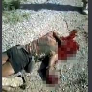 【グロ動画】IED即席爆弾で兵士が頭を吹き飛ばされるまでの一部始終