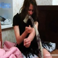 【閲覧注意】薬物中毒になったロシア美女の末路・・・ ※動画有り