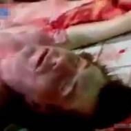 【超閲覧注意】モニター越しに血なまぐささが伝わりそうな血まみれ死体剖検・・・