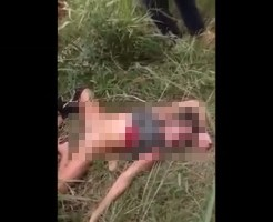 【レ●プ殺人】股を広げ犯された状態で死体になった美女がこれ・・・