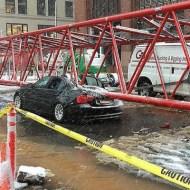 【大事故】ニューヨークど真ん中で高層クレーンが倒壊する瞬間がコレ