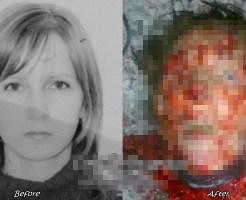 【グ◯注意】美人でも自爆テロ犯なんだってよ・・・。犯人の顔割れたから死体と一緒に顔晒す ※画像あり