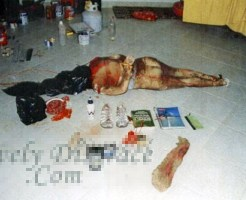 【本物レ○プ画像】レイプして殺した女家に埋めてたけど臭いでバレたった・・・w