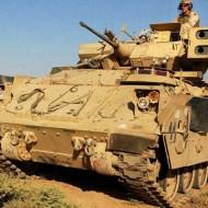 【砲弾直撃】人間に戦車で機銃掃射したら肉がはじけ飛んでいった ※グロ画像