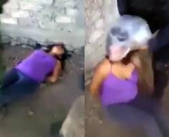 【閲覧注意】メキシコ軍が一般女性に窒息拷問する映像が流出・・・