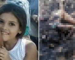 【閲覧注意】行方不明になっていた11歳の少女、恐ろしい姿で発見される
