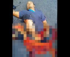 【事故 グロ】車に100メートル引きずられて死んだ死体ってどんな状態か見たことある? ※画像