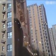 【衝撃映像】中国の新居にバルス唱えたら簡単に崩壊してワロタw