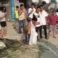 【閲覧注意】中国で自転車泥棒して捕まったらこうなる・・・【動画1本・画像11枚】