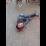 【閲覧注意】この人もうすぐ死ぬんだろうなって分かるぐらい痙攣してる手遅れな人・・・ ※動画
