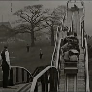 【おもしろ動画】1898年の段階で世界最先端のジェットコースターって見たことある?