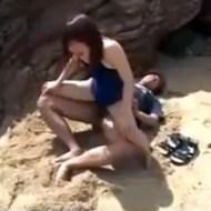 【Jkレイプ動画】水泳部の練習帰りの女子校生を拉致って野外エッチレイプ!子宮内に鬼畜精子放出…
