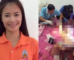 【レイプ殺人】裸で首を切られた美人過ぎる学校の先生の死体が発見される・・・