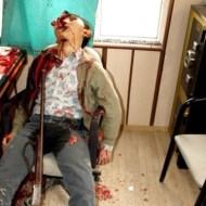 【超!閲覧注意】ショットガンで頭を吹っ飛ばすとかいう常軌を逸した自殺をした人たち・・・(画像12枚)