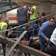 【衝撃映像】地下鉄で事故が発生したら絶望感しかない・・・inアメリカ地下鉄事故現場