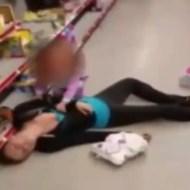 【衝撃映像】薬中ママの燃料が切れたらスイッチ切れたみたいに倒れ込んだ・・・