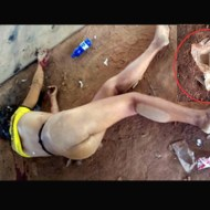 【レ●プ死体】JDをレ●プ殺害した犯人 一応ゴムつけて気は使ってた模様w ※グロ画像