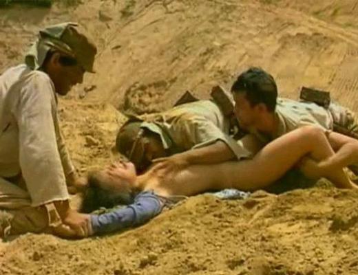 【グロ注意】兵士が戦場で性欲を解消する様子をご覧下さい・・・