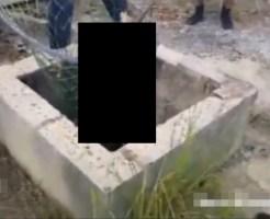 【グロ動画】井戸で発見された行方不明の子供・・・その死体は見る影もなく・・・※閲覧注意