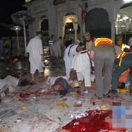【テロ映像】平和な露店風景が自爆テロで一瞬にして地獄に・・・