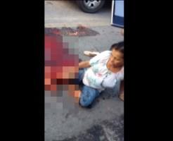 【閲覧注意】車に下半身を潰された女性がグロすぎる件・・・