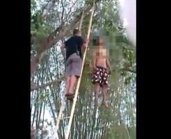 【自殺映像】お正月におめでたい最中に首吊りしちゃった少年・・・
