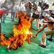 【閲覧注意】墓場の前で焚き火してると思ったら人だった件・・・