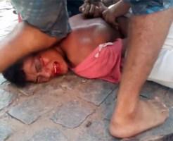 【閲覧注意】ブラジルで窃盗したら死んだ方がマシなレベルでフルボッコ・・・