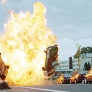【事故映像】車同士の事故で運が悪ければ接触した瞬間爆発炎上するらしい・・・