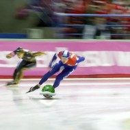 【おもしろ】もしもソチ五輪スピードスケートがマリオカートだったらw