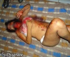 【閲覧注意】集団でレ●プされ殺された若い女性の姿・・・